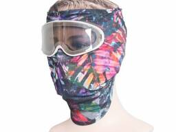 Goggle Mask, Facial Protector by fabric