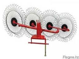 Грабли ворошилки 4-х колесные (Турция)