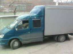 Грузоперевозки по РК и РФ 5 мест высокий кузов (грузчики)