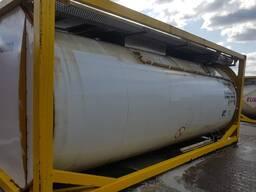 Гуммированный танк контейнер для перевозки кислот