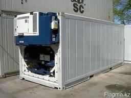 Холодильник промышленный 20 кубов на основе контейнера,