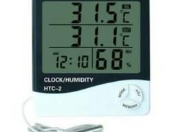 HTC-2 термометр-гигрометр с проводным датчиком