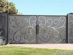 Художественная резка ворот