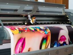 Интерьерная печать на баннерной ткани (печать на баннере)