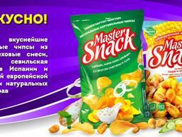 Ищем дистрибьюторов / Чипсы и снеки Master Snack
