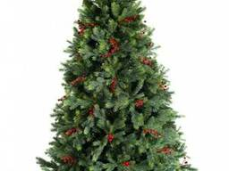 Искусственная елка премиум класса Грацио с ягодами 1,2-2,4м