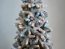 Искусственная елка премиум класса снежная Модерно 1,2-2,1м