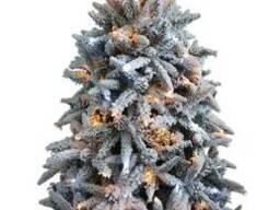 Искусственная елка премиум класса снежная Классико 1,2-2,1м