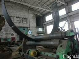 Изготовление арочных изделий, вальцовка металлопроката.