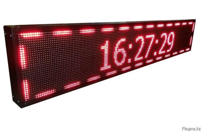 Изготовление бегущей строки - электронное табло 32 на 192 см