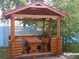 Изготовление домов бань из бревна - фото 5
