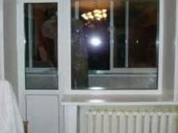 Изготовление и монтаж окон и балконов из ПВХ.
