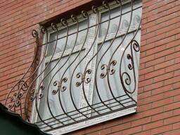 Изготовление кованных дверей решеток - фото 3