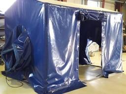 Изготовление тентовых палаток для работы сварщика