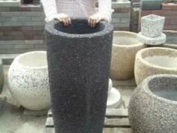 Изготовление вазонов, скамеек, урн, из натуральных камней