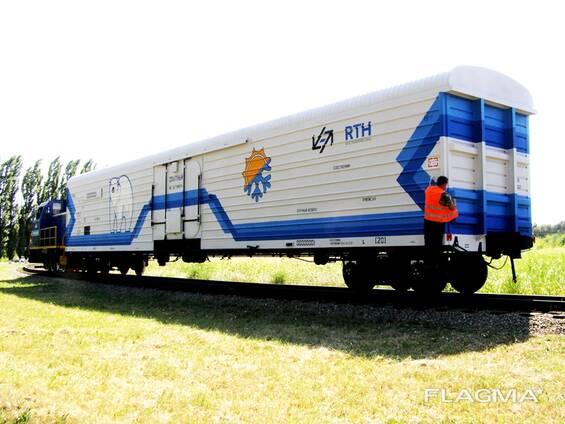 Изотермический вагон-термос, модель 16-6962