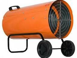 Калорифер газовый цвет апельсин Профтепло КГ-81