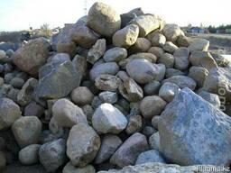 Камень бутовый, валун речной, булыжник, доставка ЗиЛ 6 т. по
