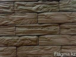 Камень декоративный Альпенхоф тёмно-коричневый