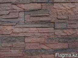 Камень декоративный Сланец классический тёмно-коричневый