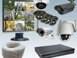 Камеры видеонаблюдения Установка видеонаблюдения Усть-Камен