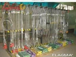 Канат(трос) стальной, цепи, стропы (^-^)/\ ^-^  . /штука