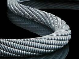 Канаты одинарной свивки спиральные 10. 5x3. 6x3. 4 мм ЛК-О ГОСТ
