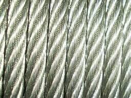 Канаты одинарной свивки спиральные 9. 8x3. 4x3. 2 мм ЛК-О ГОСТ