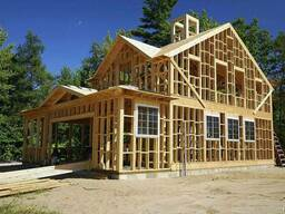 Строительство Каркасных домов. Мансарды.