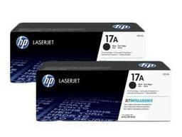 Картридж лазерный HP CF217A, оригинал, Black