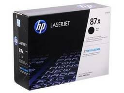 Картридж лазерный HP CF287X, 87X Оригинал