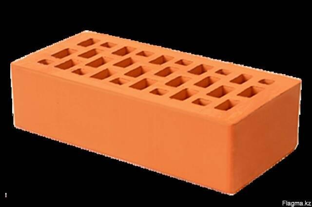 Кирпич керамический цвет персик одинарный