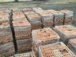Кирпич керамический забутовочный с завода производителя