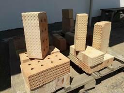 Кирпич строит. полуторный 250х120х88 и одинарный 250х120х65