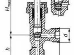 Клапан запорный угловой сальниковый 15с13бк1 КЗ 24028