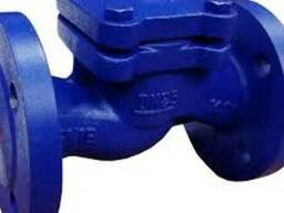 Клапаны обратные подъёмные фланцевые чугунные Ру16