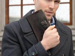 """Классный кожаный клатч """"Marrant Leather"""". Очень вместительны"""