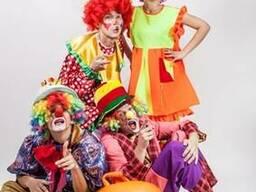 Клоуны, актеры-аниматоры