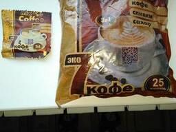 Кофе в пакетиках 3 в одном