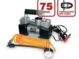 Компрессор автомобильный двухпоршневой (насос для шин) AVS