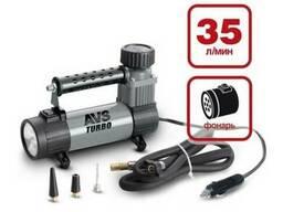Компрессор автомобильный (насос для шин) 35 литров Turbo AVS