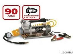 Компрессор автомобильный (насос для шин) 90 литров AVS KS90