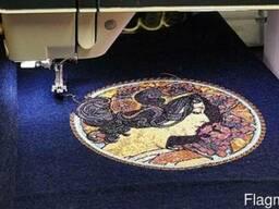 Компьютерная вышивка на ткани