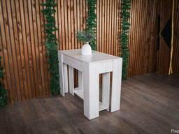 Консольный раскладной стол