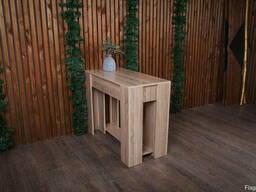 Консольный раскладной стол трансформер