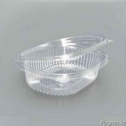 Контейнер пластиковый,прозрачный 350мл