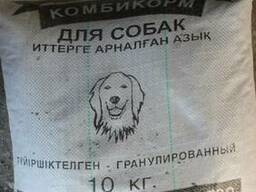Корм для собак гранулированный