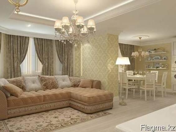 Косметический и капитальный ремонт квартир в Атырау