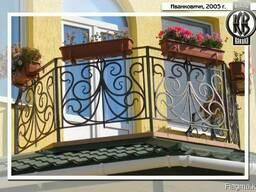 Кованые ворота для дома. Перила и решетки ажурные
