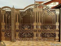 Кованые ворота, перила, заборы, двери, навесы, казырьки